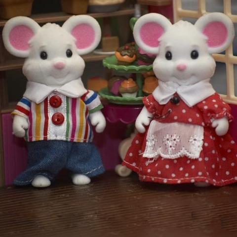 Парочка мышек Happy family 012-01С