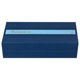 Перьевая ручка Waterman Carene Obsession Blue Lacquer/Gunmetal перо золото 18Ct F (1904558)