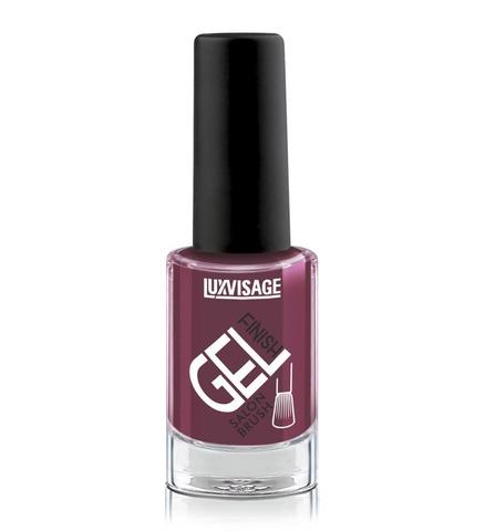 LuxVisage Gel Finish Лак для ногтей тон 24 (сливовый ) 9г