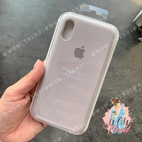 Чехол iPhone XR Silicone Case Full /lavender/ лаванда