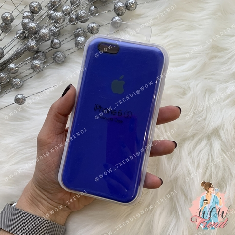Чехол iPhone 6/6s Silicone Case /ultramarine/ ультрамарин 1:1