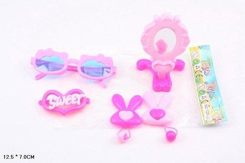 Набор для девочек в пакете с зеркалом и очками I567-Н40020
