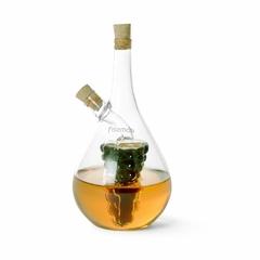 6538 FISSMAN Бутылочка 40/450мл для масла и уксуса 2-в-1 (стекло)