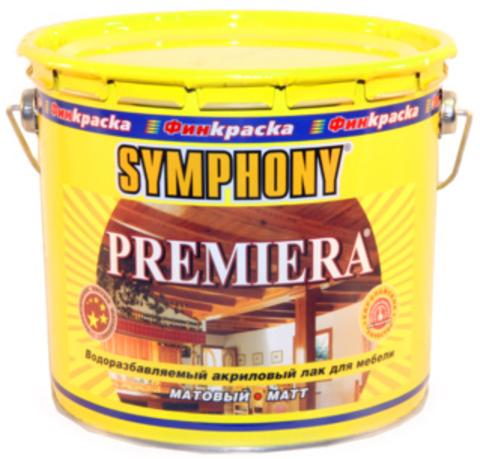 SYMPHONY PREMIERA – лак матовый, шелковисто-матовый для мебели