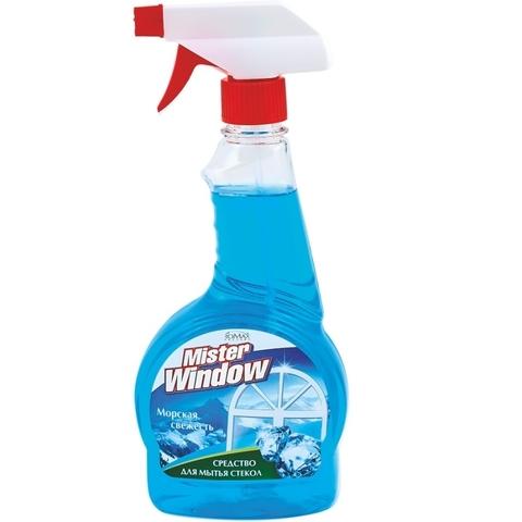 Фабрика Ромакс Mister Window Средство для мытья окон Морская свежесть 500мл
