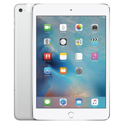 iPad mini 4 Wi-Fi+Cellular 16GB Silver