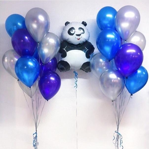 Шары панда Набор шары металлик и Панда pehwIMWH6hI.jpg