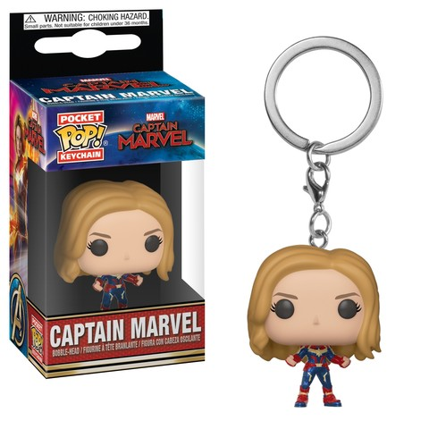 Брелок Funko POP! Keychain: Marvel: Captain Marvel: Captain Marvel 36438-PDQ