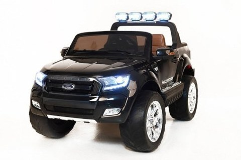 Электромобиль Rivertoys Ford Ranger 4WD черный глянец (NEW-FORD-RANGER-BLACK-GLA)