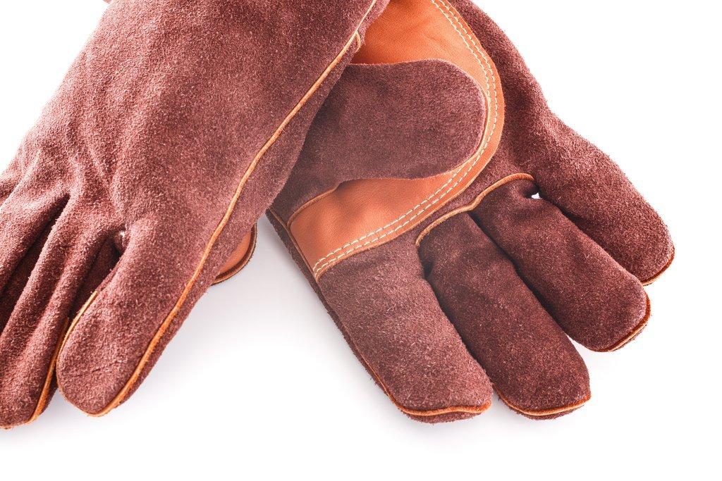 """Перчатки кожаные традиционные """"Log"""" Bradleys"""