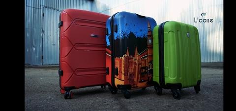 Неубиваемые чемоданы от L'case !!!