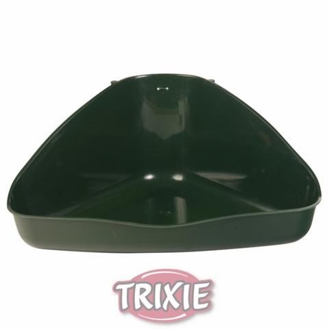Trixiе 6255/62551 Туалет д/кролика угловой, пластик