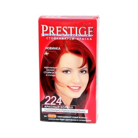 Краска для волос Prestige 224 - Красный коралл