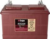 Тяговый аккумулятор Trojan SCS225 ( 12V 130Ah / 12В 130Ач ) - фотография