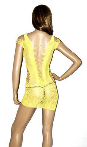 Сексуальное мини-платье со шнуровкой спереди Chilirose