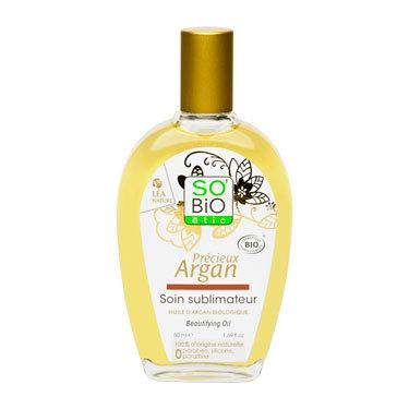 Косметическое масло «БЬЮТИ» с аргановым маслом, 50 мл SO'BIO etic