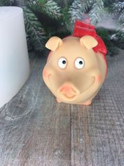 Форма  «Свинка подарок»