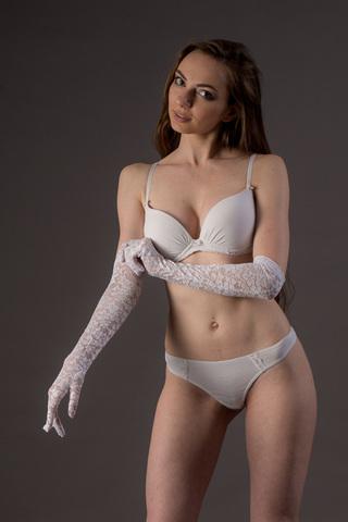Кружевные перчатки Chilirose