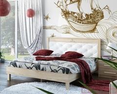 Кровать мк-44 (каркас 93.01 + Спинка №11.1)