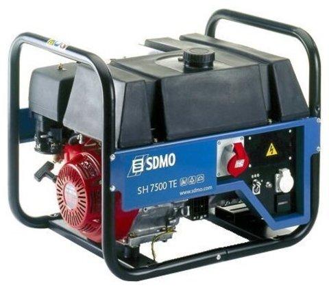 Кожух для бензиновой электростанции SDMO SH7500TE S