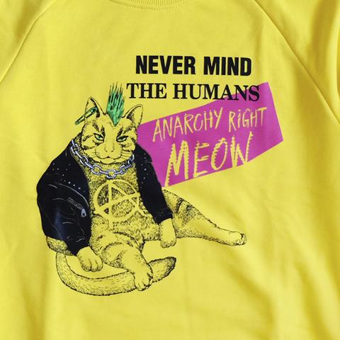 Anarchy right meow! / свитшот