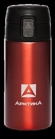 Термос (сититерм-вакуумный) Арктика (0,35 литра),красный