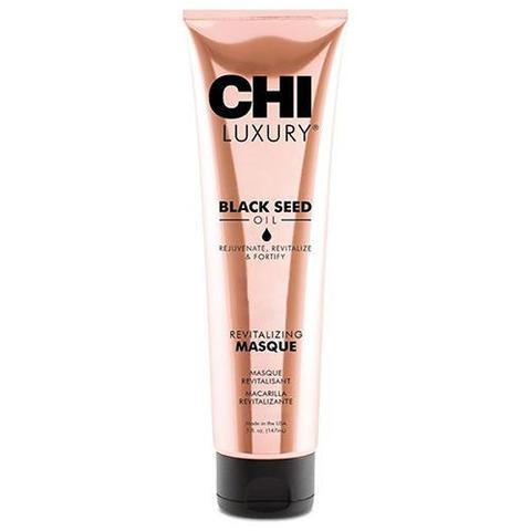 CHI | Маска для волос Luxury с маслом семян черного тмина «Оживляющая», (147 мл)