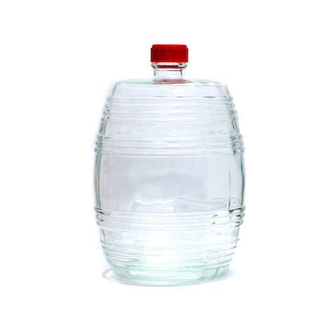 Бутыль Бариле 10 л, прозрачное стекло