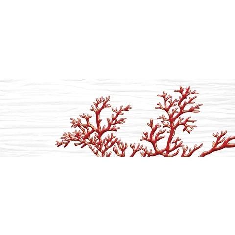 Декор Коралл белый 04-01-1-17-03-00-901-1 600х200х9