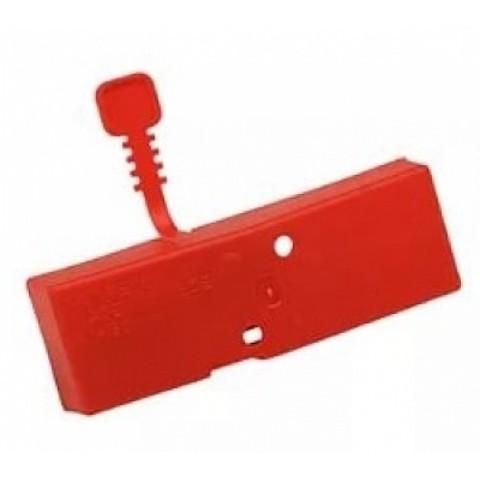 Чехол на ножи ручных ледобуров MORA ICE Easy диам. 125 мм. (цвет красный)