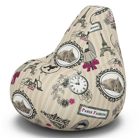 Кресло-мешок «Груша»Париж