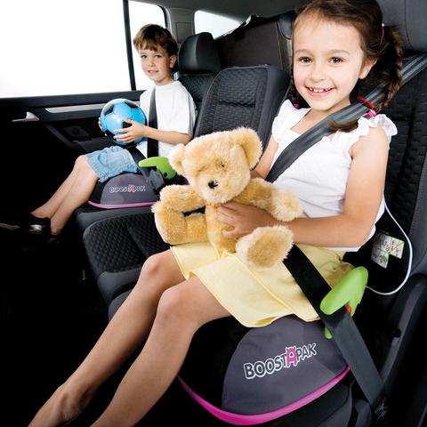 Автокресло - рюкзак Boostapak, розовый