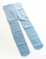 Колготки Micro VELVET 120D Голубые Рост 115 см - 128 см (6-8 лет)