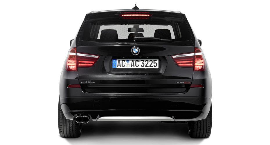Обвес AC Schnitzer для BMW X3 F25