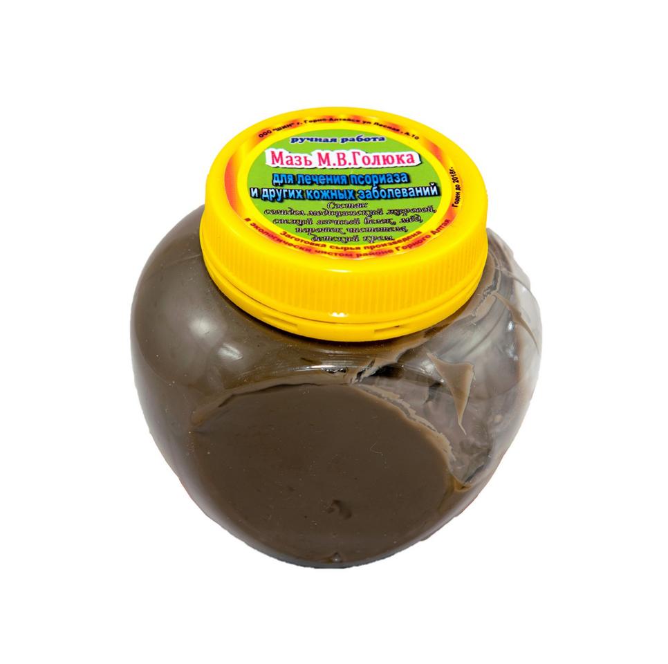 Голюка мазь от псориаза 300 г.