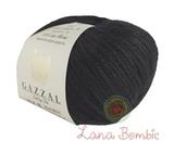 Пряжа Gazzal Baby Wool XL черный 803
