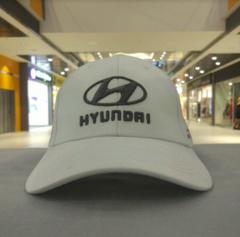 Бейсболка Хендай белая (Кепка Hyundai)