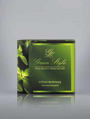 Liv delano Green Style Крем-флюид матирующий (дневной) 45г