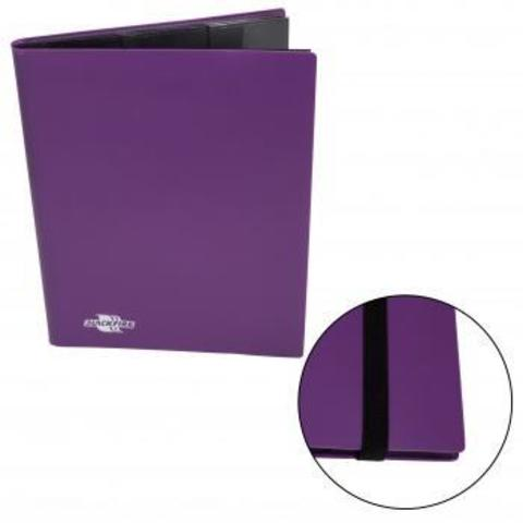 Альбом Blackfire c 20 встроенными листами 3х3 - Flexible Purple