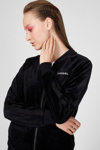 Женская черная спортивная кофта UFLT-BONSHIN-Z Diesel