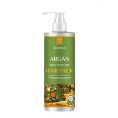 Deoproce Argan Silky Moisture Hair Pack - Маска для волос с аргановым маслом
