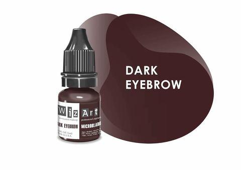 Dark Eyebrow (темно-коричневый нейтральный) • Wizart Microblading • пигмент для бровей