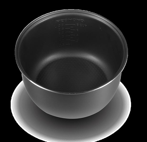 RB-C400 Чаша (кастрюля) (4 литра) с керамическим покрытием для мультиварок Redmond RMC-M4515, RMC-M4524 Доставка в регионы Почтой России