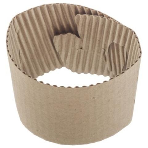 Кап-холдер универсальный для стаканов 250-300 мл (бурый, коробка 1000 шт)