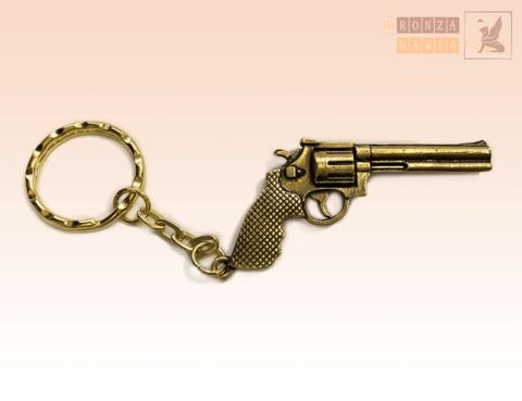 брелок Пистолет Револьвер Большой Вар.2
