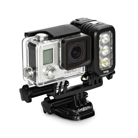 Фонарик Knog -  (Qudos action light. Black )