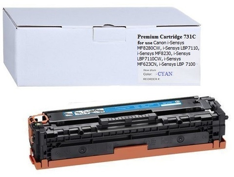 Картридж Premium Cartridge 731C