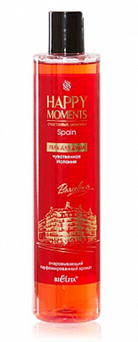 Белита LOVELY MOMENTS Гель для душа Чувственная Испания 345мл