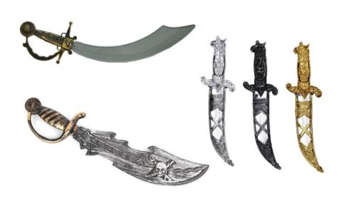 Пиратское оружие в ассортименте