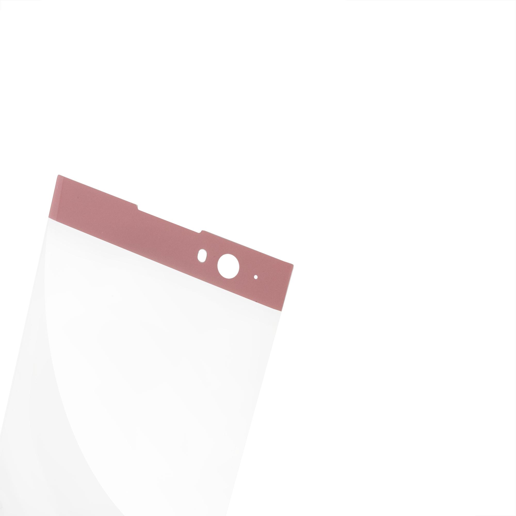 Защитное стекло для Xperia XA2 розового цвета